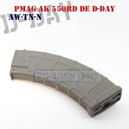 Магазин бункерный PMAG AK D-DAY (AW-TN-N)