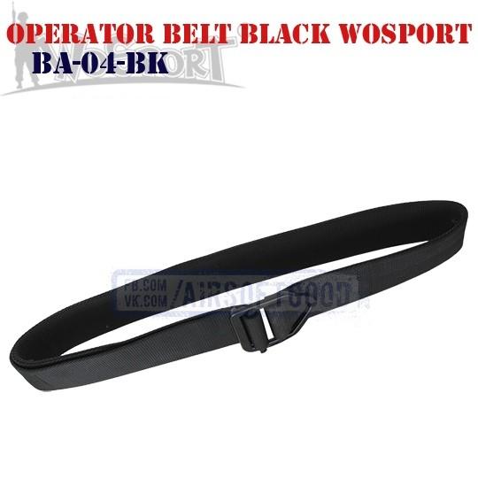 Пояс Operator Black WoSporT (BA-04-BK)