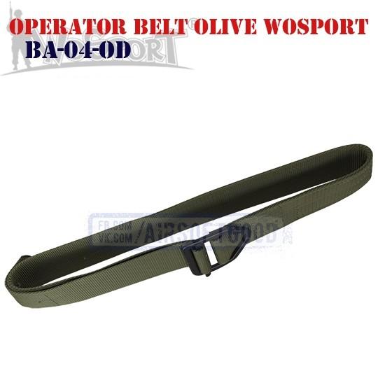 Пояс Operator Olive WoSporT (BA-04-OD)