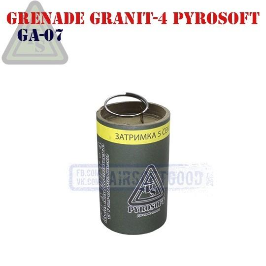 Ручная граната ГРАНІТ-4 Страйкбольная PYROSOFT (GA-07)
