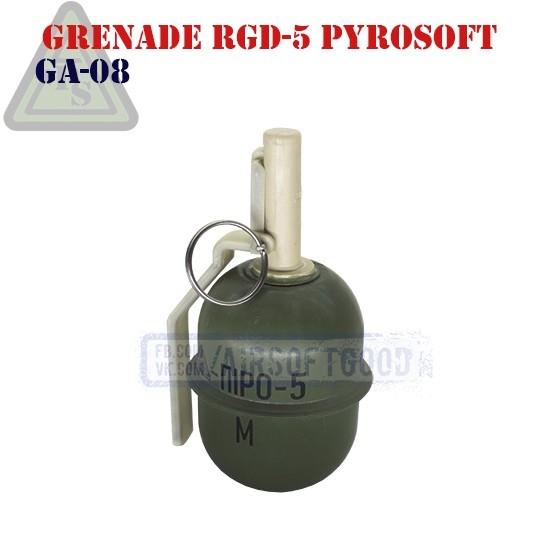 Ручная граната РГД-5 ПІРО-5 Страйкбольная PYROSOFT (GA-08)