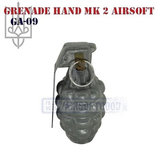 Ручная граната Mk 2 Страйкбольная (GA-09)