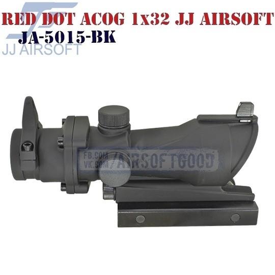 Red Dot Style ACOG 1x32 JJ Airsoft (JA-5015-BK)