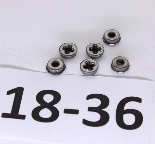 Набор маслосохраняющих втулок 7мм SHS ZT0026