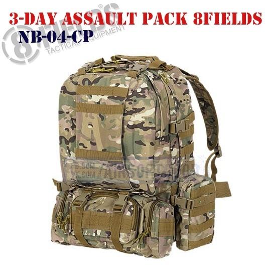 3-Day Assault BackPack MULTICAM 8FIELDS (NB-04-CP)