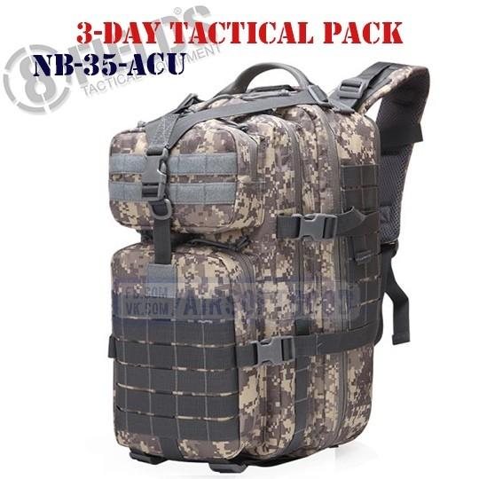 3-Day Tactical BackPack ACU 8FIELDS (NB-35-ACU)