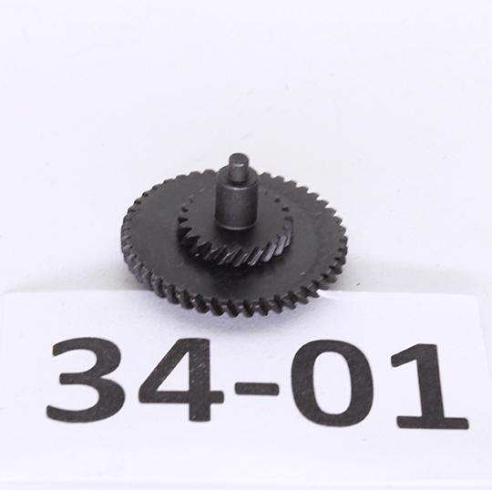 Средняя шестерня косозубая CNC 100:200 24:1 ROCKET (новая)