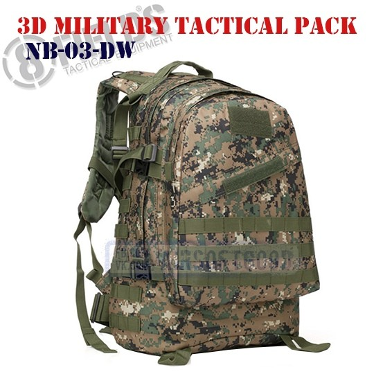 3D Military Tactical BackPack MARPAT 8FIELDS (NB-03-DW)