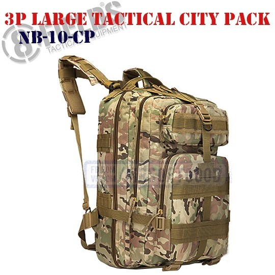 3P Large Tactical City BackPack MULTICAM 8FIELDS (NB-10-CP)
