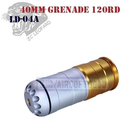 40mm Grenade 120rd Aluminum ZC Leopard (LD-04A)