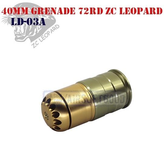 40mm Grenade 72rd Aluminum ZC Leopard (LD-03A)