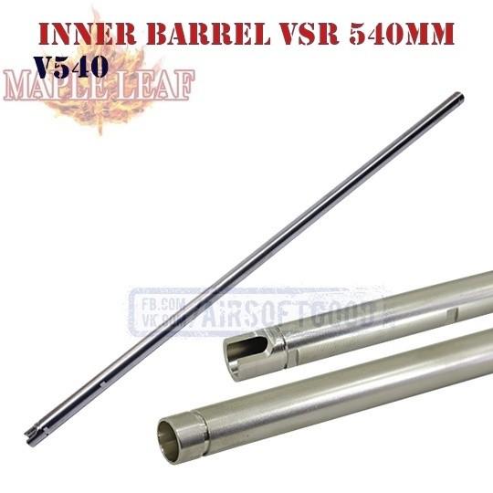 6.02 Inner Barrel VSR-10 540mm Maple Leaf (V540)