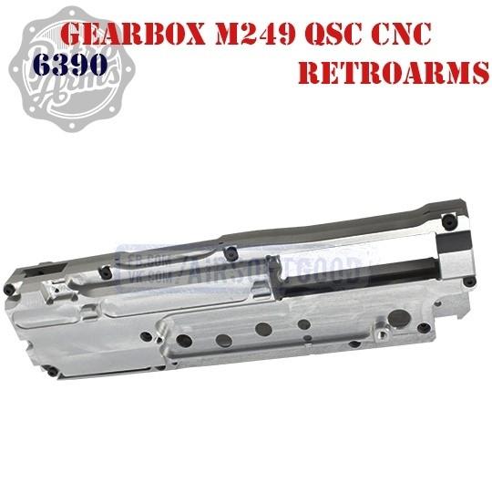 Gearbox Shell M249 QSC CNC Aluminum RetroArms (6390)