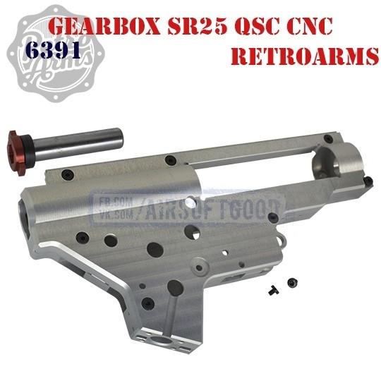 Gearbox SR25 QSC CNC Aluminum RetroArms (6391)