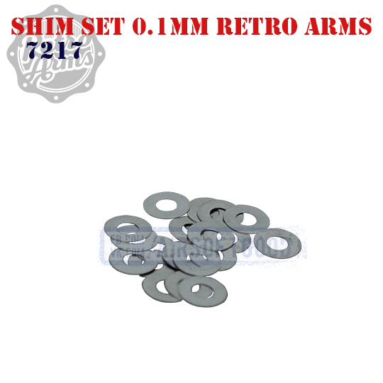 Shim Set 0.1mm Retro Arms 7217