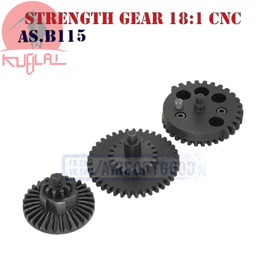 High Strength Gear Set Standard 18:1 CNC KUBLAI (AS.B115)