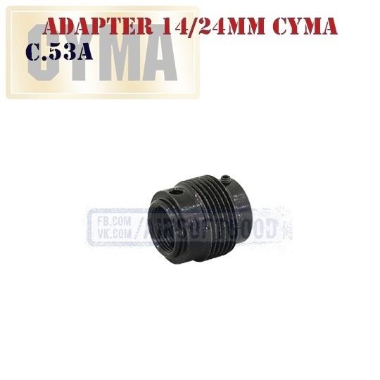 Adapter CCW14/CW24 CYMA (C.53A)