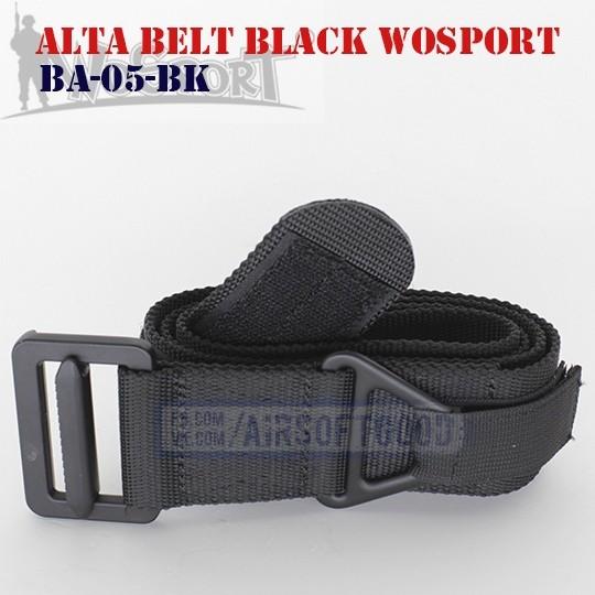 Alta Belt Black WoSporT (BA-05-BK)