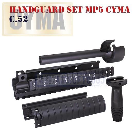 Aluminum Hanguard Set MP5 CYMA (C.52)