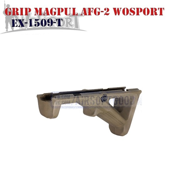 Angled Fore Grip MAGPUL AFG-2 TAN WoSporT (EX-1509-T)