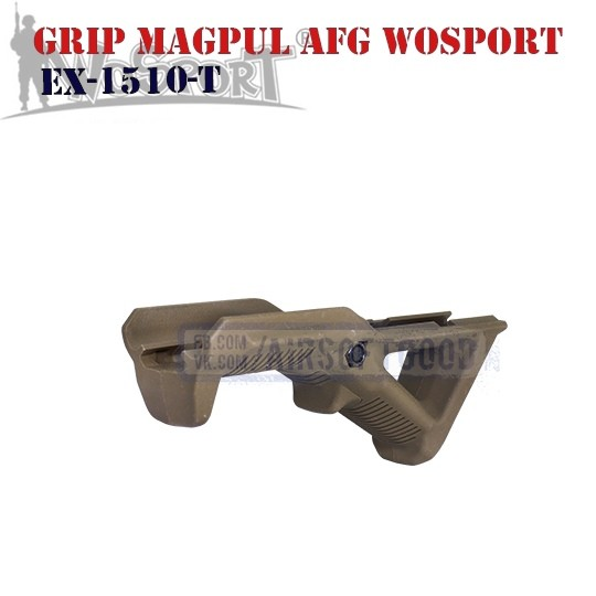 Angled Fore Grip MAGPUL AFG TAN WoSporT (EX-1510-T)