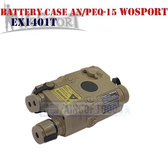 Battery Case AN/PEQ-15 DE WoSporT (EX1401T)