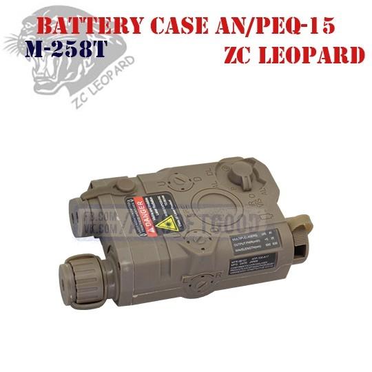 Battery Case AN/PEQ-15 DE ZC Leopard (M-258T)