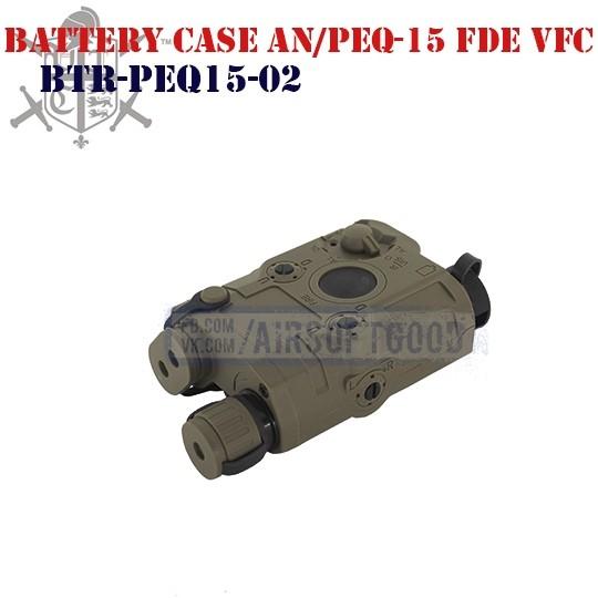 Battery Case AN/PEQ-15 FDE VFC (BTR-PEQ15-02)