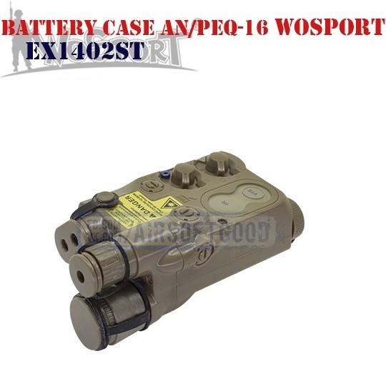Battery Case AN/PEQ-16 DE WoSporT (EX1402ST)