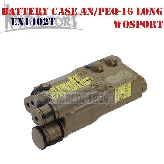 Battery Case AN/PEQ-16 Long DE WoSporT (EX1402T)