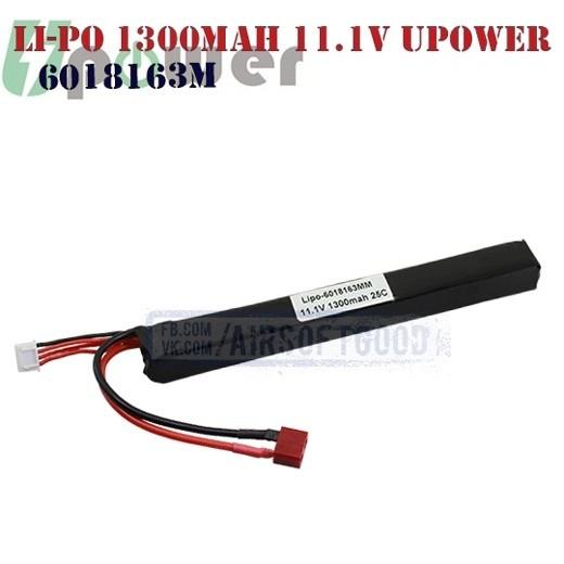 Battery Li-Po 1300mAh 11.1V UPOWER (6018163M)