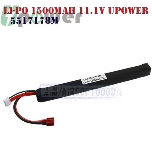 Battery Li-Po 1500mAh 11.1V UPOWER (5517178M)