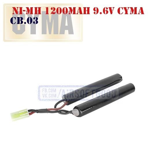 Battery Ni-Mh 1200mAh 9.6V CYMA (CB.03)
