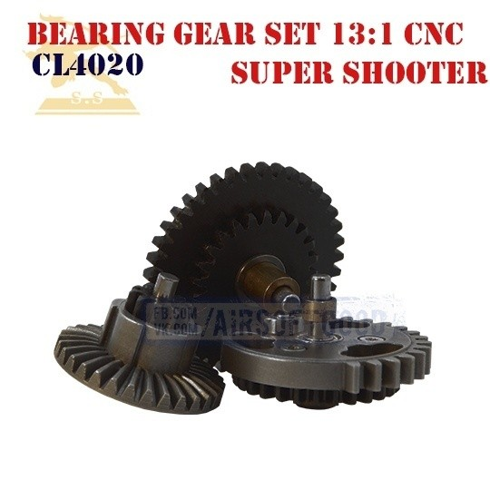 Bearing Gear Set High Speed 13:1 CNC Super Shooter (CL4020)