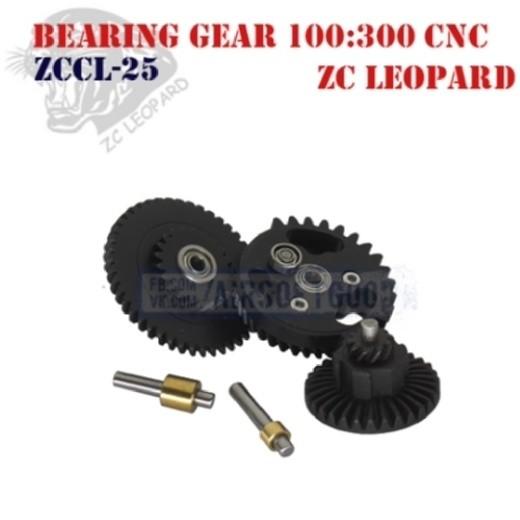 Bearing Gear Set Ultra Torque 100:300 CNC ZC Leopard (ZCCL-25)