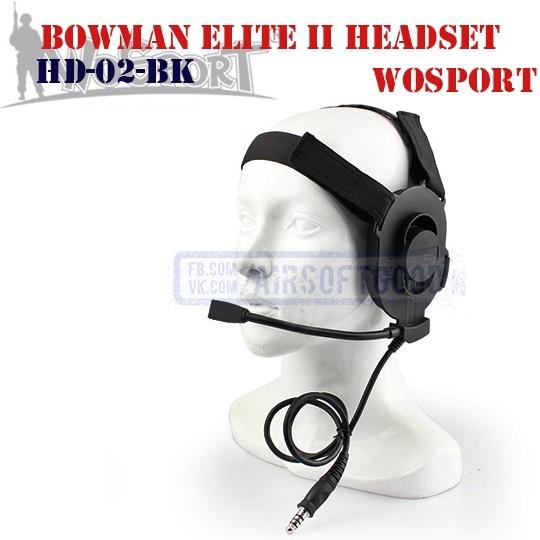Bowman Elite II Headset WoSporT (HD-02-BK)