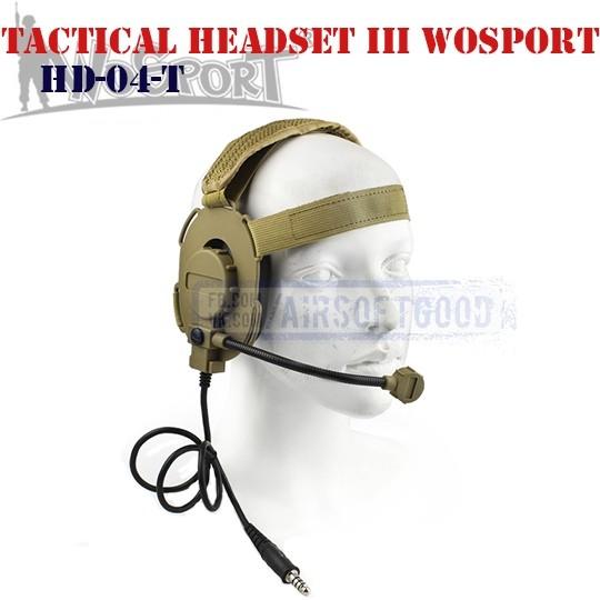 Bowman Elite III Headset TAN WoSporT (HD-04-T)