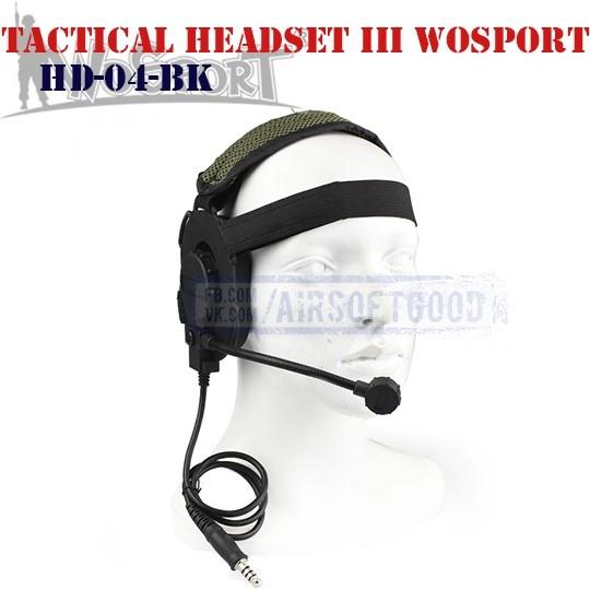 Bowman Elite III Headset WoSporT (HD-04-BK)