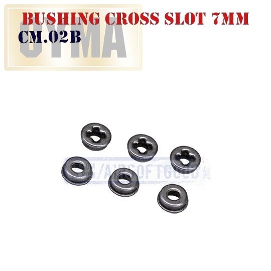 Bushing Cross Slot 7mm CYMA (CM.02B)