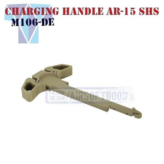 Charging Handle AR-15 Dark Earth SHS (M106-DE)