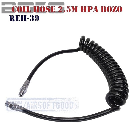 Coil Hose 2.5M HPA BOZO (REH-39)
