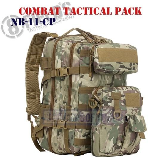 Combat Tactical BackPack MULTICAM 8FIELDS (NB-11-CP)
