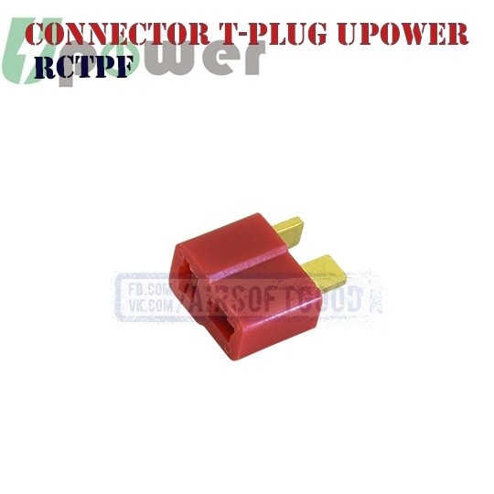 Connector T-plug Female UPOWER (RCTPF) Т-коннектор