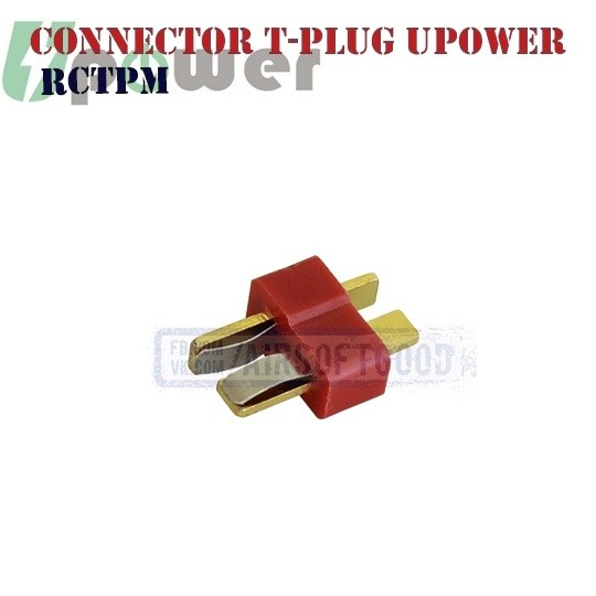 Connector T-plug Male UPOWER Т-коннектор