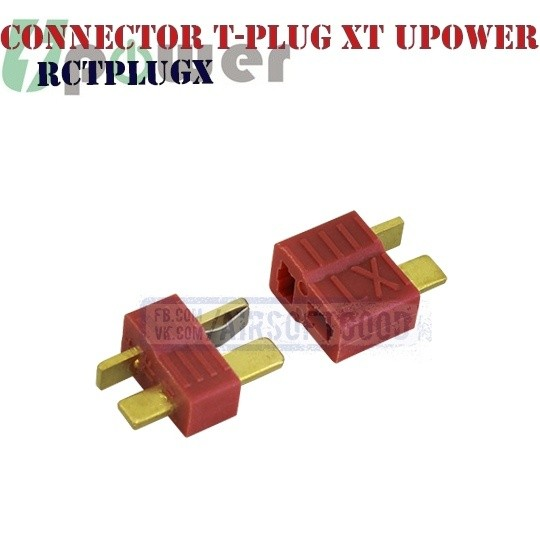 Connector T-plug XT Male & Female UPOWER Т разъем