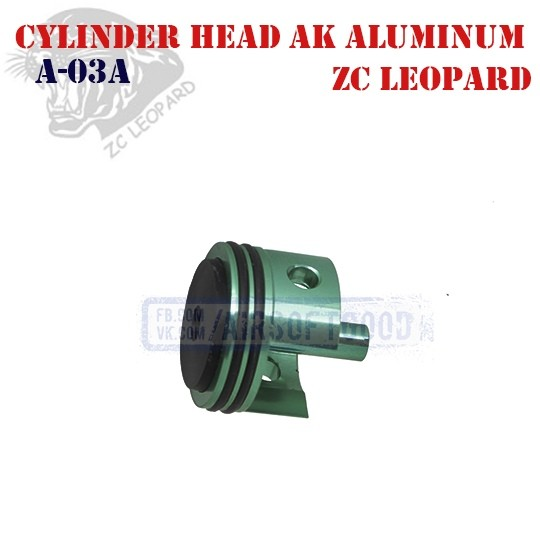Cylinder Head AK Aluminum ZC Leopard (A-03A)