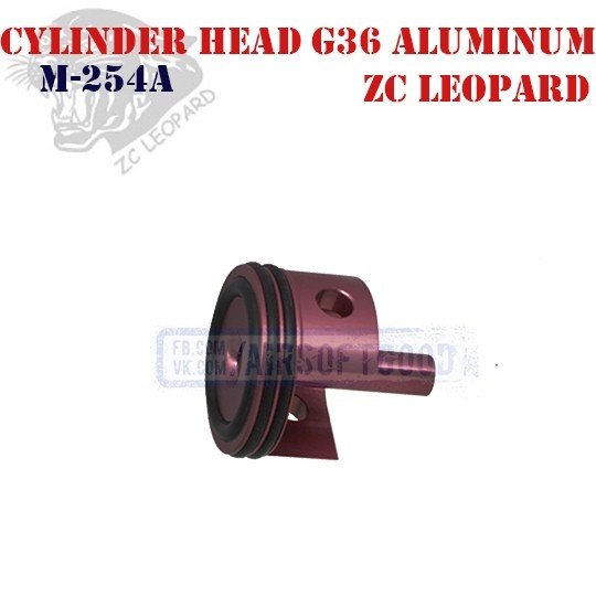 Cylinder Head G36 Aluminum ZC Leopard (M-254A)