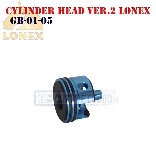 Cylinder Head Gearbox Ver.2 Aluminum LONEX (GB-01-05)