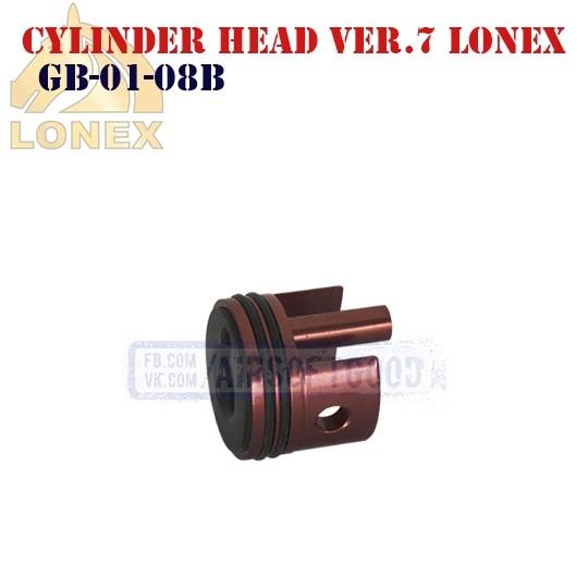 Cylinder Head Gearbox Ver.7 Aluminum LONEX (GB-01-08B)
