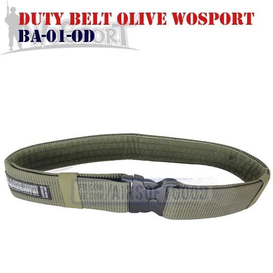 Duty Belt Olive WoSporT (BA-01-OD)